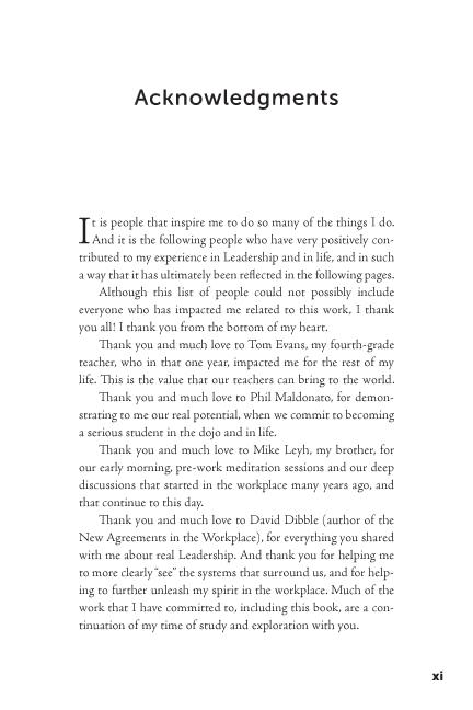 The Leadership Revolution sample page9