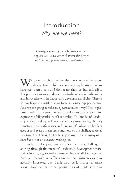 The Leadership Revolution sample page11