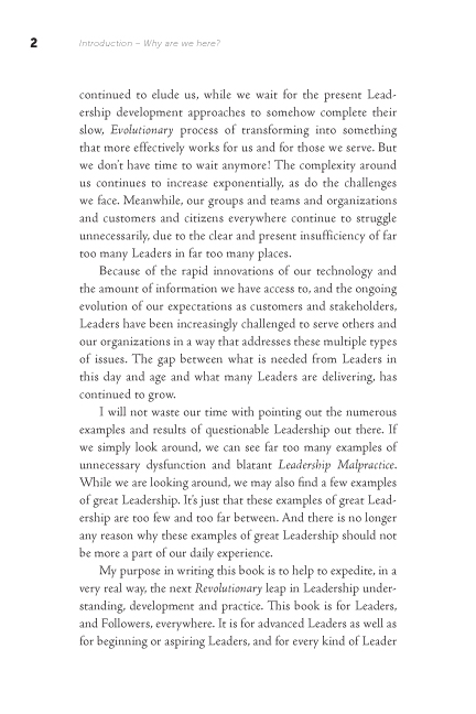 The Leadership Revolution sample page12