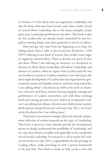 The Leadership Revolution sample page13
