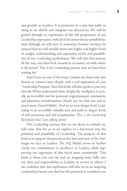 The Leadership Revolution sample page15