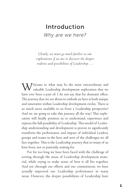 The Leadership Revolution sample page11