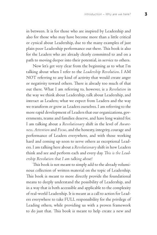 The Leadership Revolution sample page13