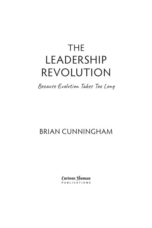 The Leadership Revolution sample page1